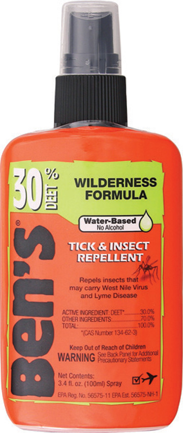 AD7088 Adventure Medical Ben's 30 Tick-Insect Repellent