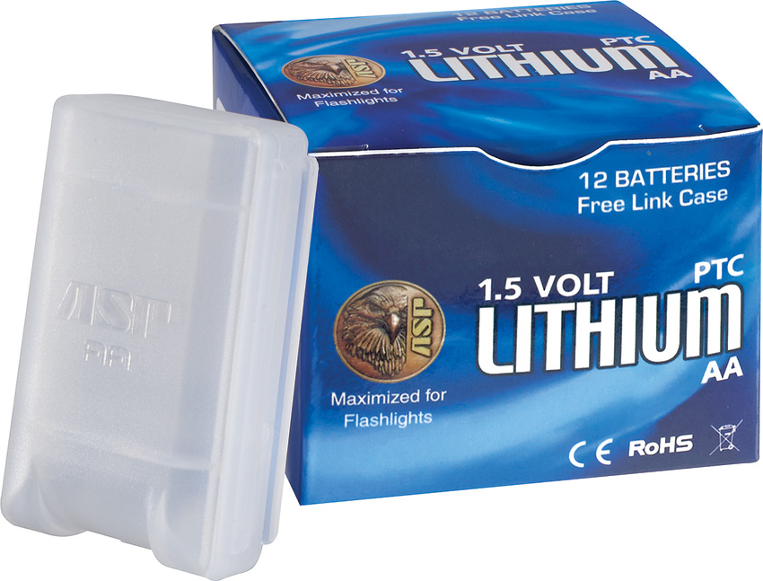 ASP03030 ASP AA Lithium Battery 12 Pack