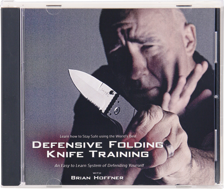 ATADVD Hoffner Knives Defensive Folding Knife Training Book