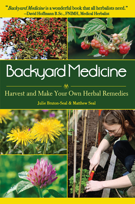 BK253 Book - Backyard Medicine