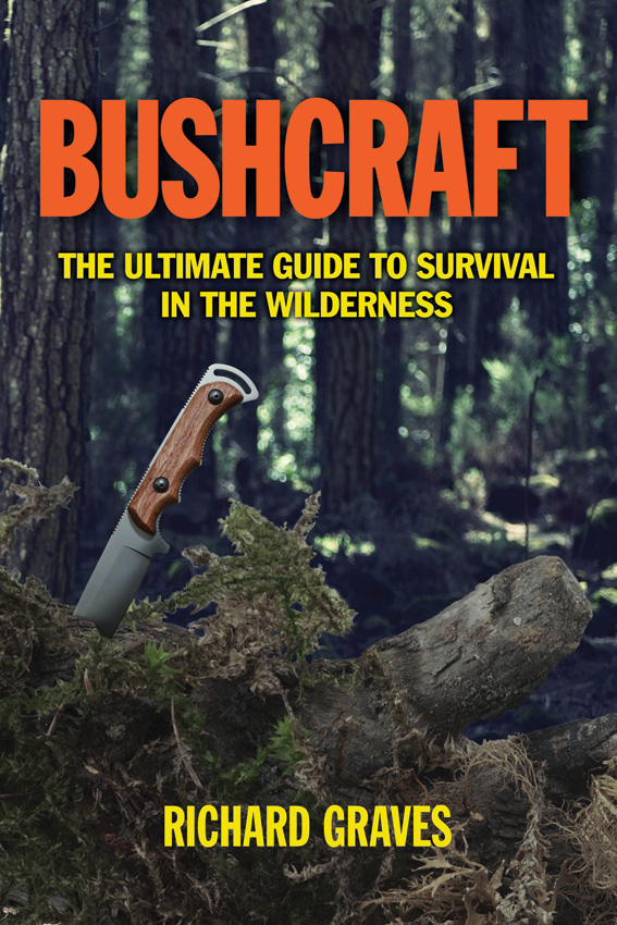 BK259 Book - Bushcraft-The Ultimate Guide to Survival in the Wilderness