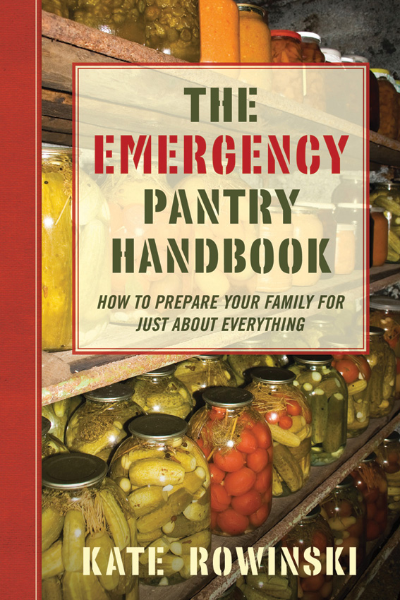 BK283 Book - Emergency Pantry Handbook