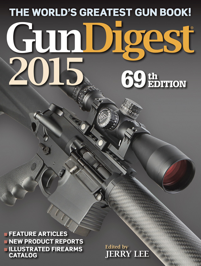 BK302 Book - Gun Digest 2015 69th Edition