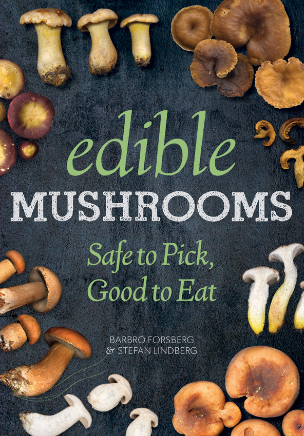 BK321 Book - Edible Mushrooms