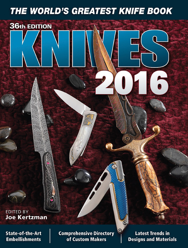 BK331 Book - Knives 2016
