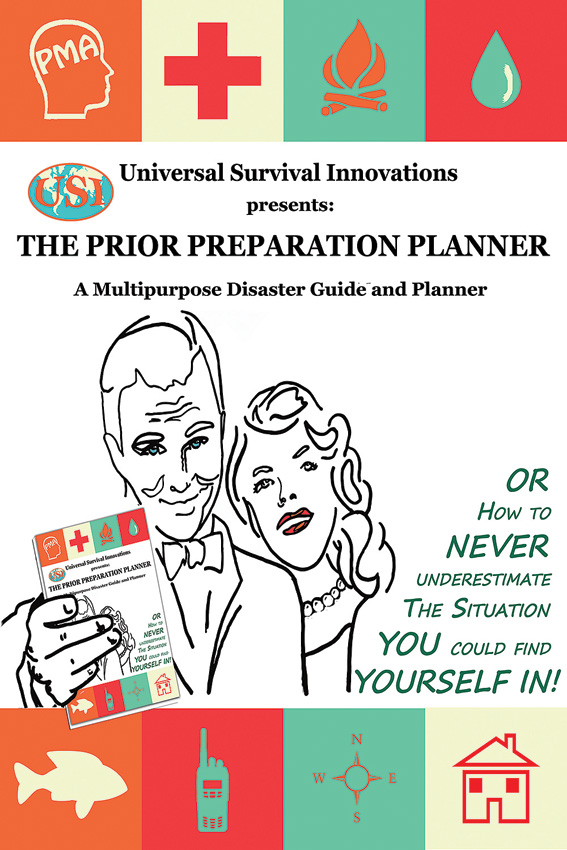 BK334 Book - USI The Prior Preparation Planner