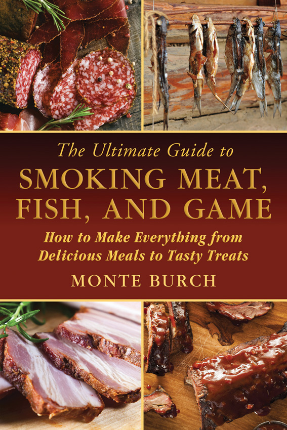 BK336 Book - Smoking Meat-Fish-Game