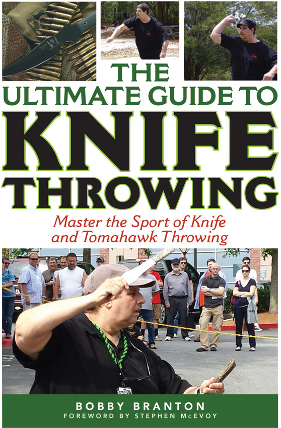 BK337 Book - Ultimate Guide Knife Throwing