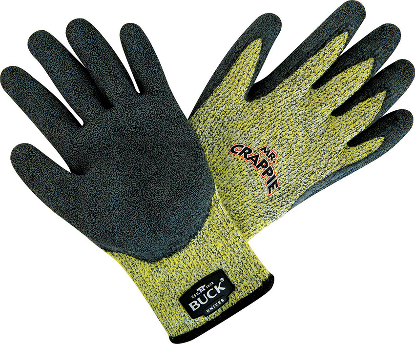 BU11019 Buck Mr Crappie Fishing Gloves XXL