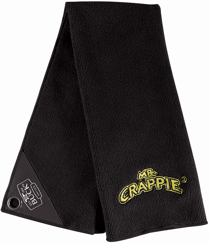 BU95080 Buck Mr. Crappie Fishing Towel