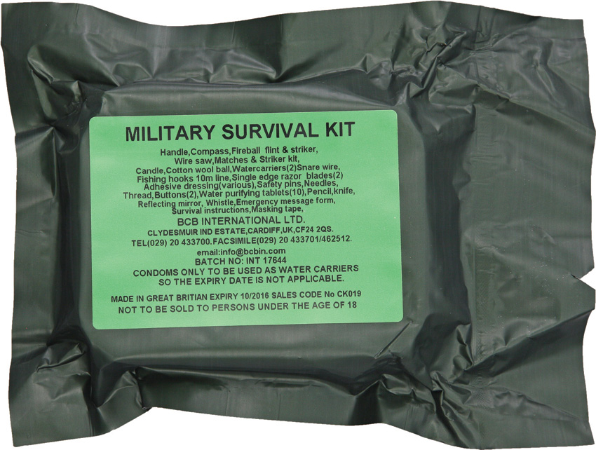 Bus019 Bushcraft Military Survival Kit