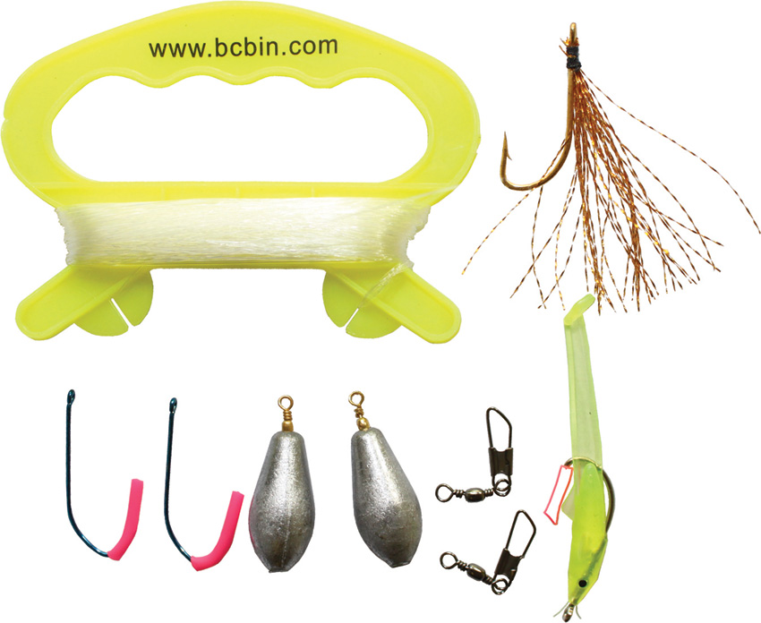 BUS213 Bushcraft BCB Liferaft Fishing Kit