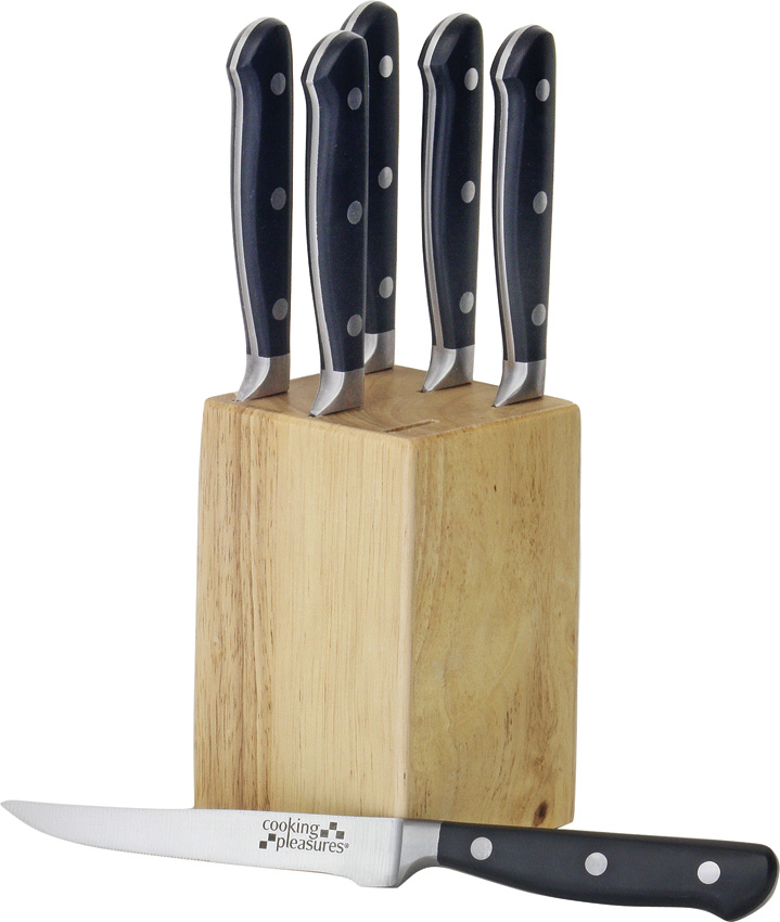 C1610 Steak Knife Set with Block