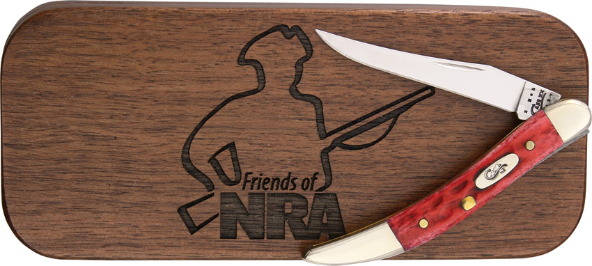CA5969 Case Friends of NRA Tiny Toothpick Knife