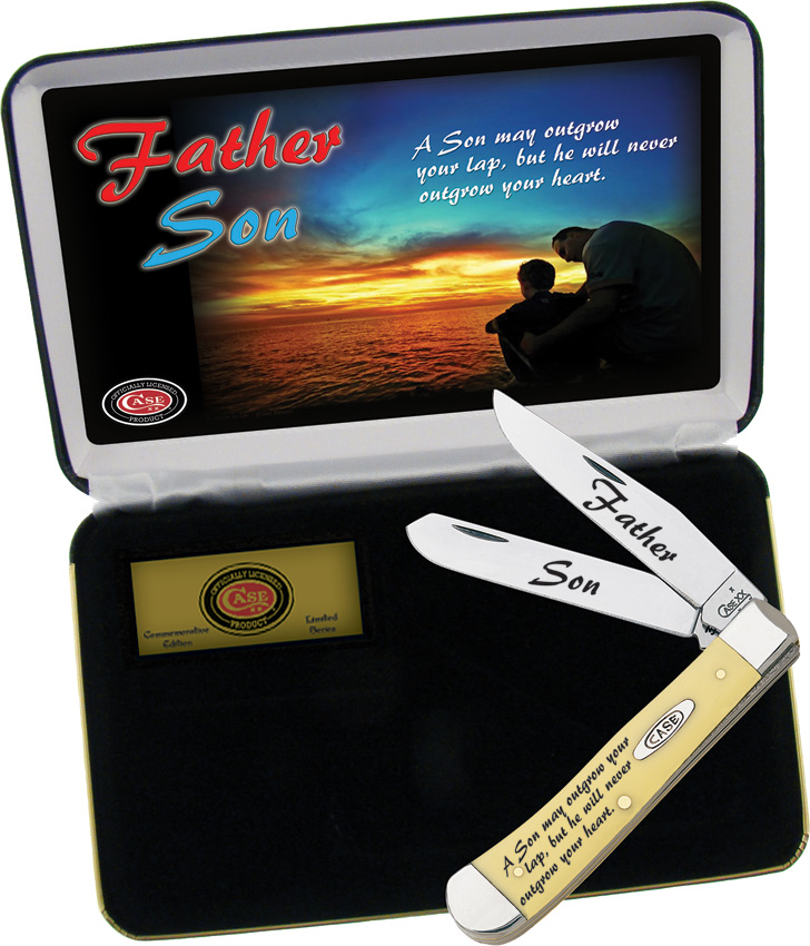 CAFSY Case Cutlery Father/Son Trapper Knife Limited Edition