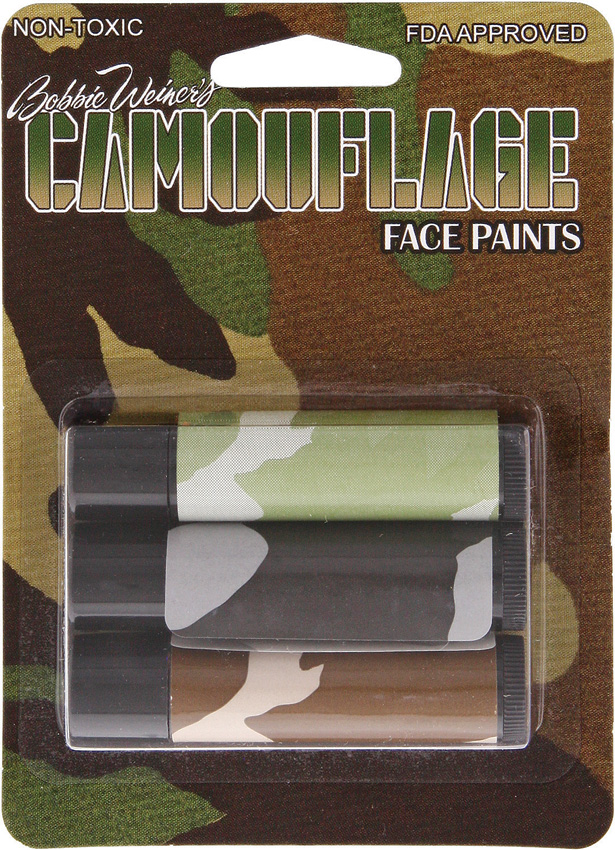 CAMT3000 Camo Facepaint Sticks