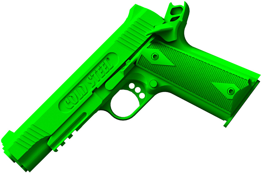 CS92RGC11C Cold Steel 1911 Rubber Training Pistol