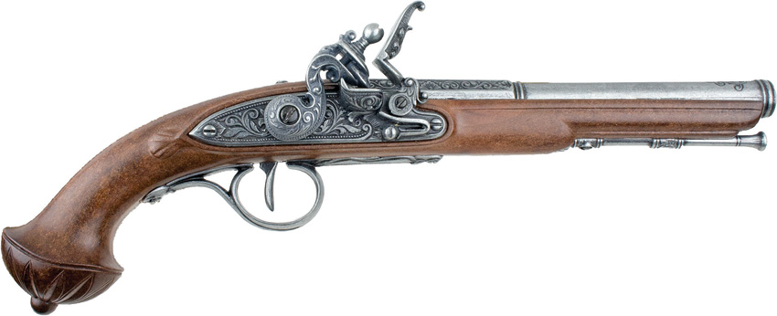 DX1300 Denix 18th Century Flintlock Pistol Replica