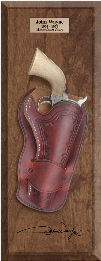 DXJW302D Denix John Wayne M1873 Pistol and Holster Frame Set