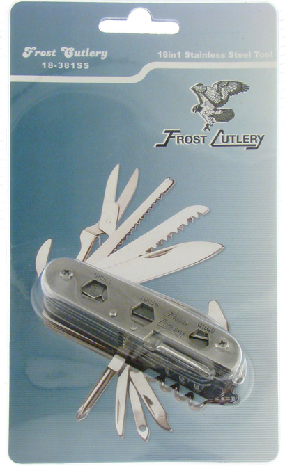 F18381SS Frost 18 Function Multi-Tool