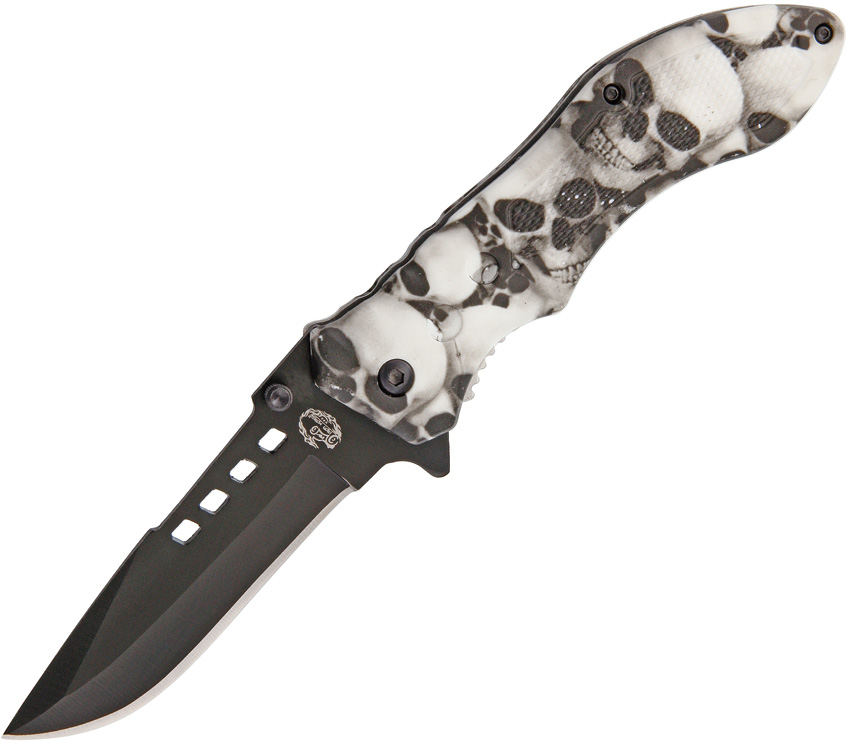 FCPIH3969 Frost Cutlery Iron Horse Linerlock Pocket Knife A/O
