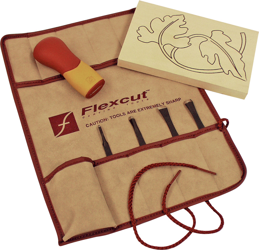 FLEXSK106 Flexcut Five Piece Craft Carver Set