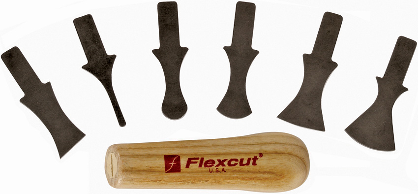 FLEXSK121 Flexcut 7 Piece Profile Scrapers