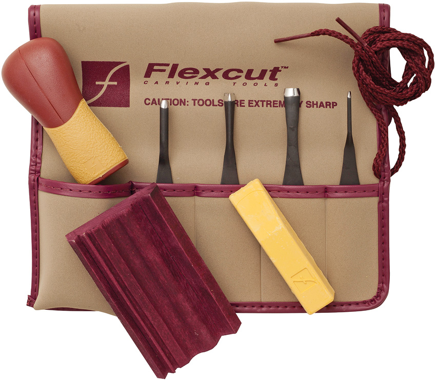 FLEXSK130 Flexcut 5 Piece Printmaking Set