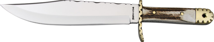 FTS132 Frost Trophy Stag Bowie Knife