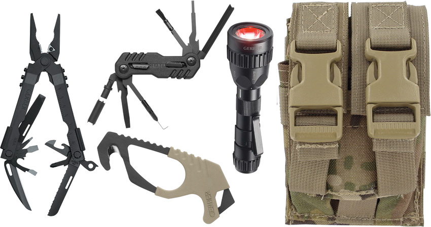 G30000367 Gerber Individual Deployment Tool Kit Multi Cam Sheath