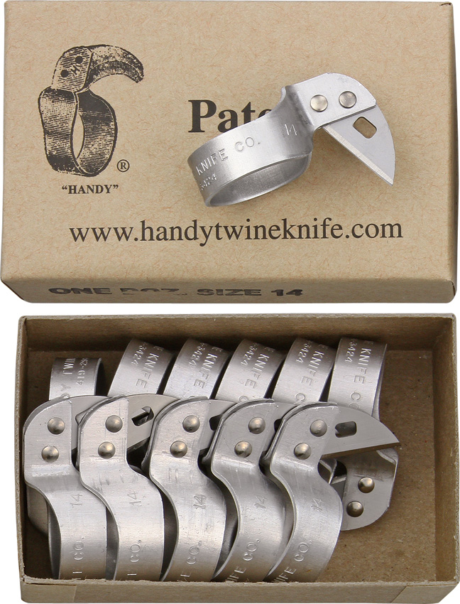 HT04 Handy Twine Razor's Edge Metal Ring Knife