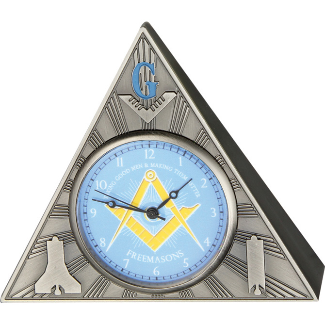 IW53 Infinity Masonic Table Clock