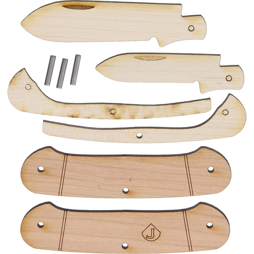 JJ5 JJ's Knife Kit Two Blade Canoe Knife Making Kit