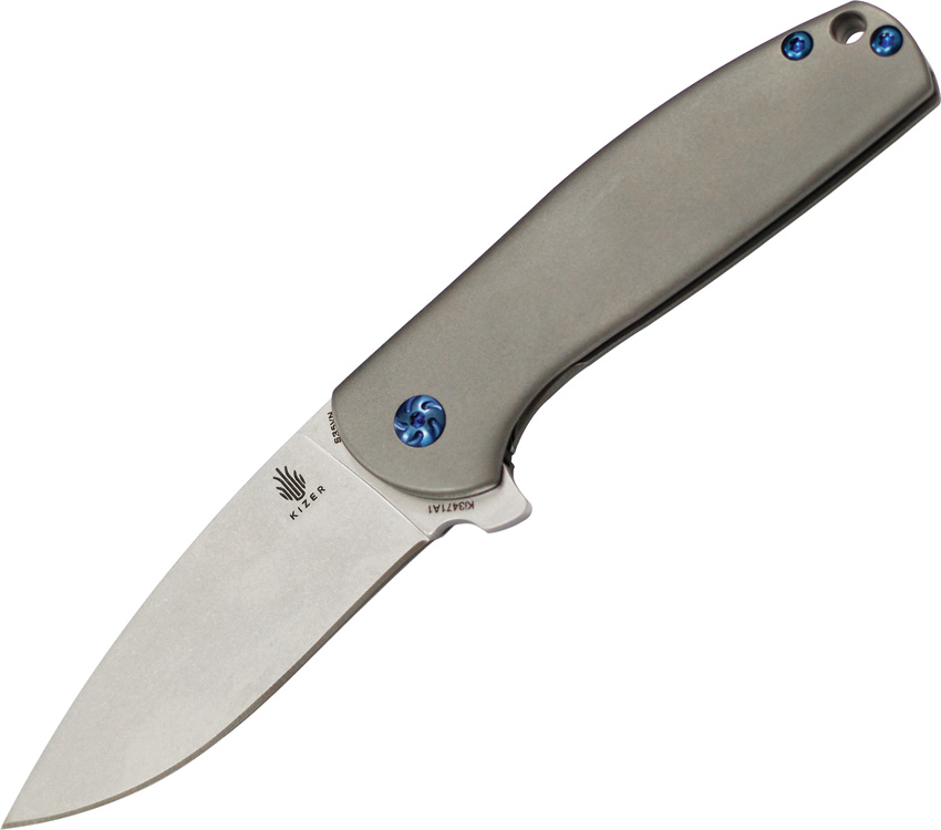 KI3471 Kizer Cutlery Gemini Framelock Pocket Knife