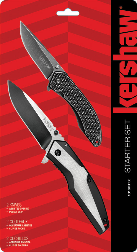 KS1316KITX Kershaw Starter Pocket Knife Set