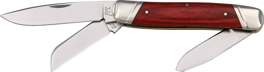 KZSDPCW Katz Stockman Pocket Knife Drop Point