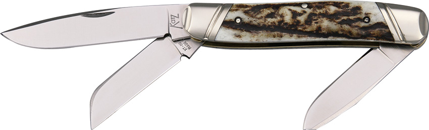KZSDPS Katz Stockman Pocket Knife Drop Point
