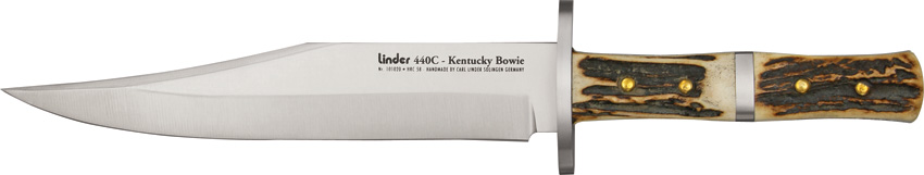 LD101020 Linder Kentucky Bowie Knife