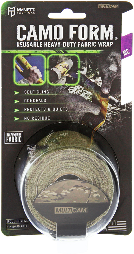 MCN19418 McNett Camo Form Self Cling Wrap