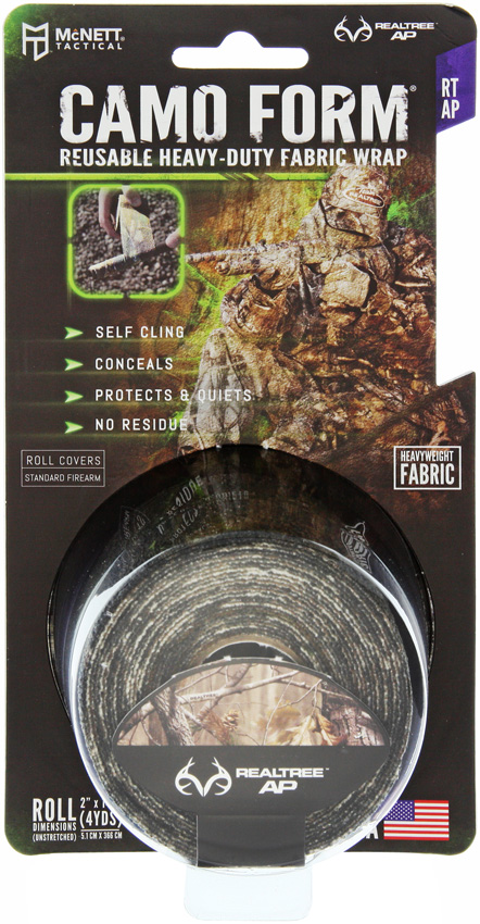 MCN19600 McNett Camo Form Self Cling Wrap