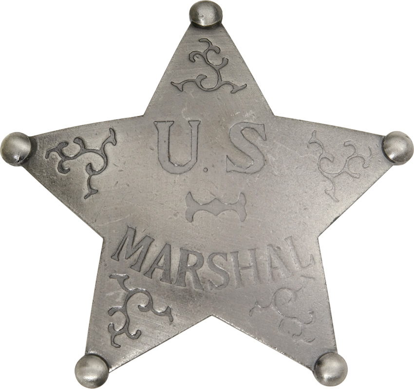 MI3016 Badges Of The Old West US Marshal Badge