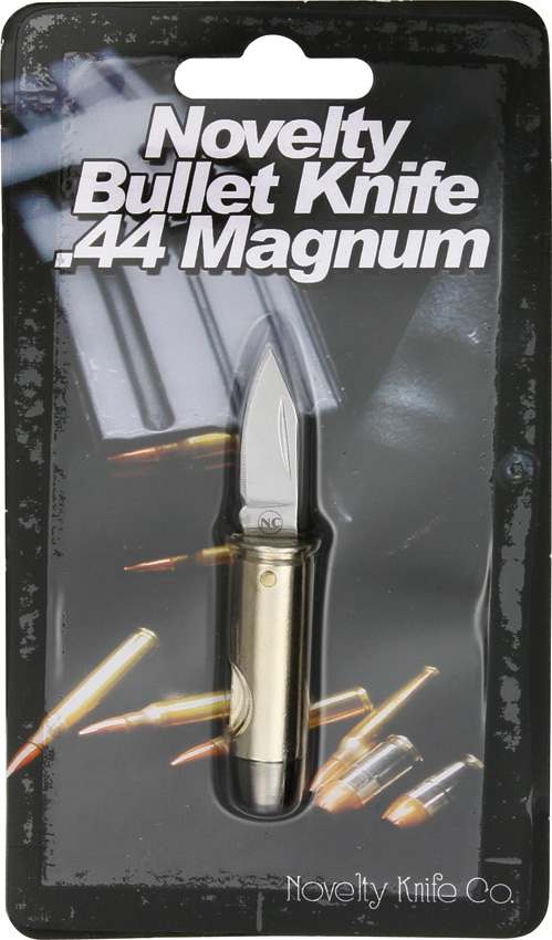 NV265 Novelty Cutlery .44 Magnum Bullet Knife