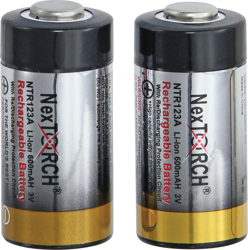 NXNTR123A Nextorch Rechargeable Battery