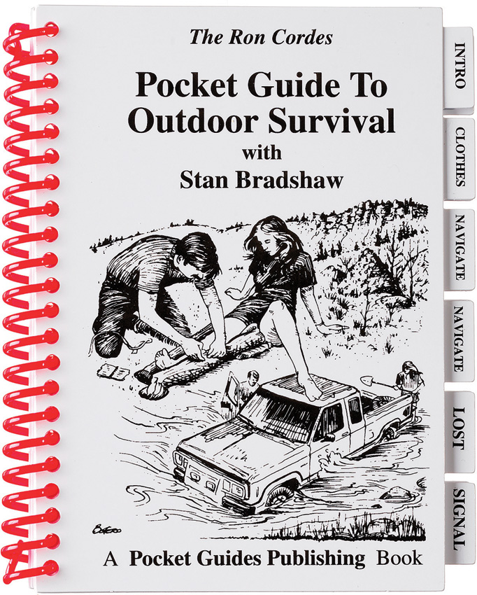 PK04 Book - Outdoor Survival Pocket Guide