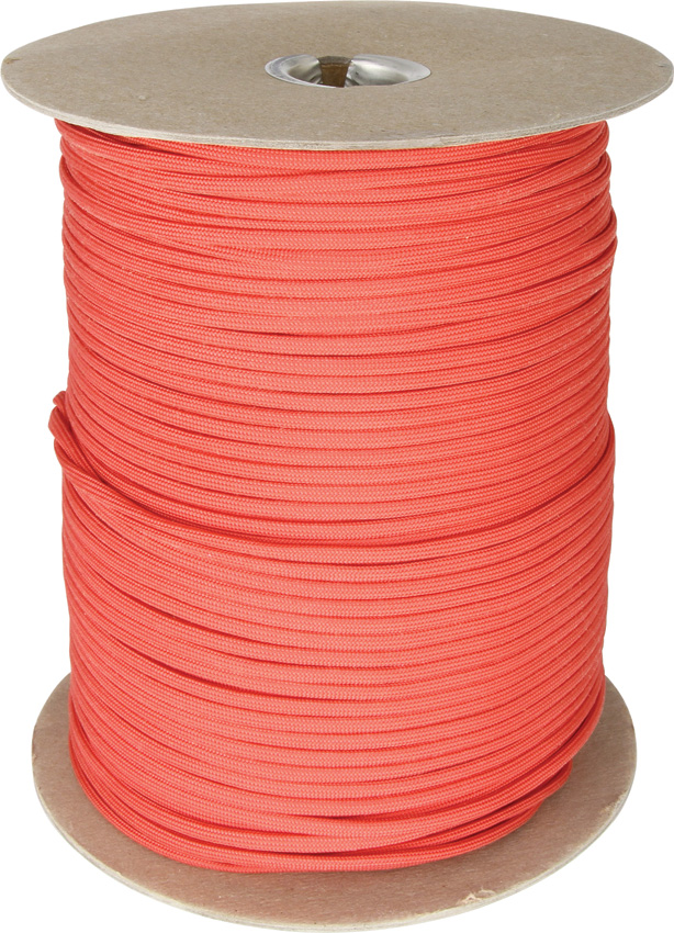 RG1011S Parachute Cord Red 1000 Ft