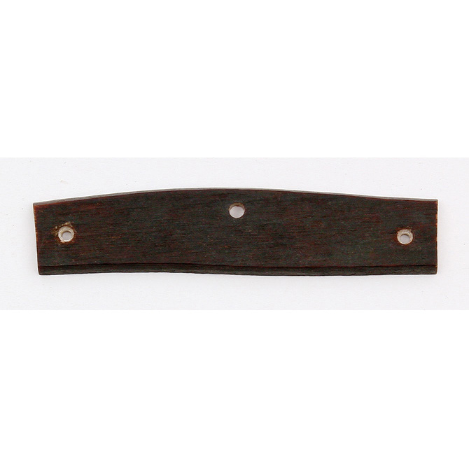 S95 Schrade Knifemaking Handle Material Brown Single