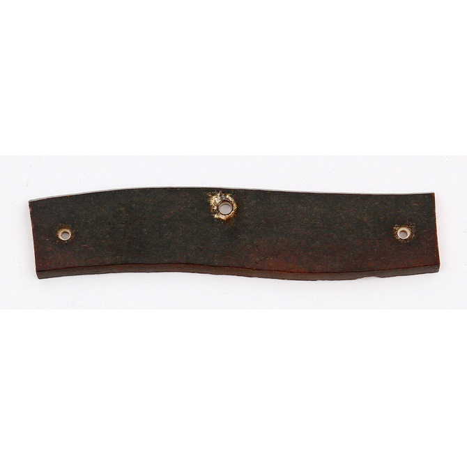 S97 Schrade Knifemaking Handle Material Brown Single