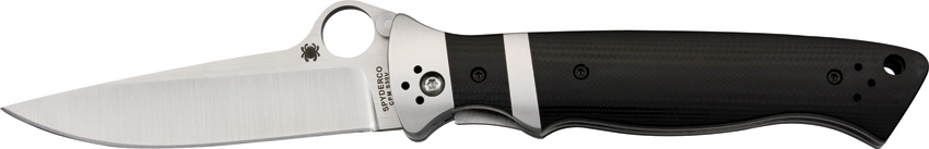 SC149GP Spyderco Vallotton Sub-Hilt Pocket Knife