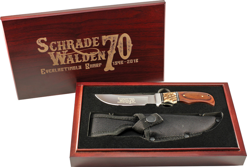 SCHPROM1637CP Schrade Walden Fixed Blade Knife