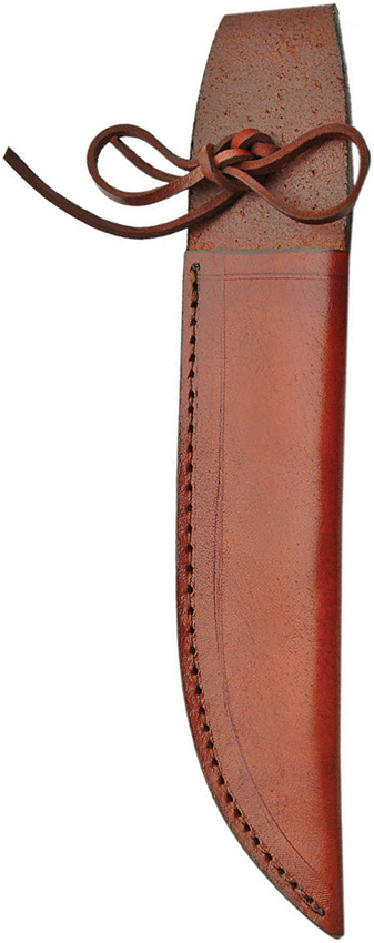 SH1159 Brown Leather Knife Sheath 7 Inch